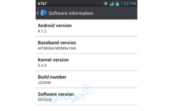 LG Optimus G on AT&T starts seeing Android 4.1.2 updates (update: official)