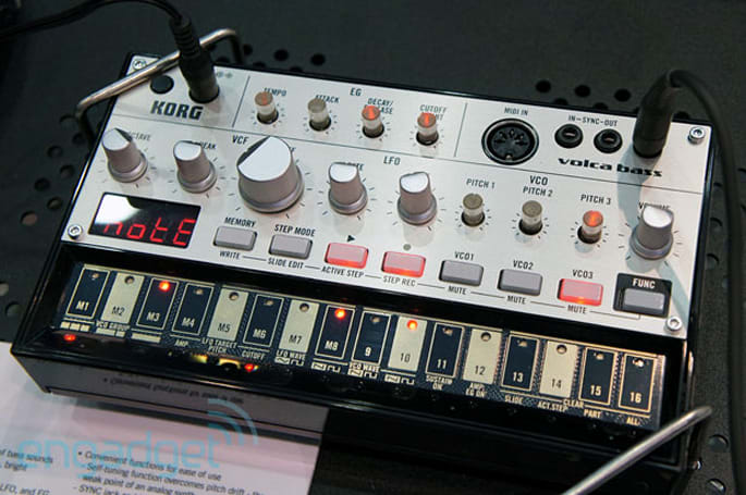 Korg announces Volca analog synth series, we go eyes-on