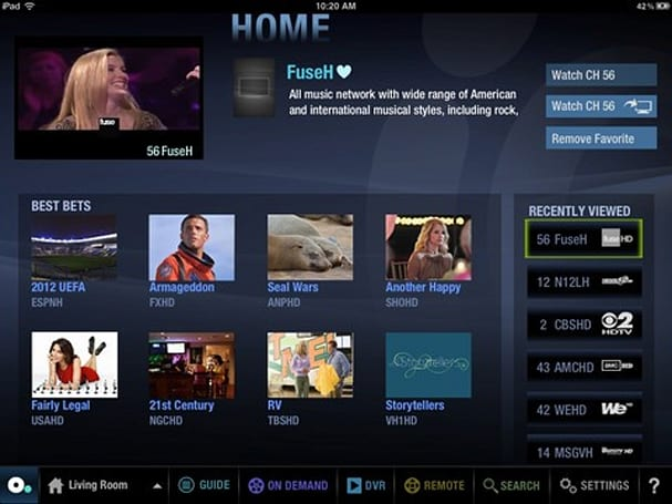 Cablevision's Optimum for iPad app adds streaming even when users are away from home