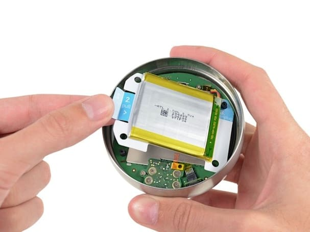 Second-gen Nest teardown reveals high degree of repairability, fun with curved glass