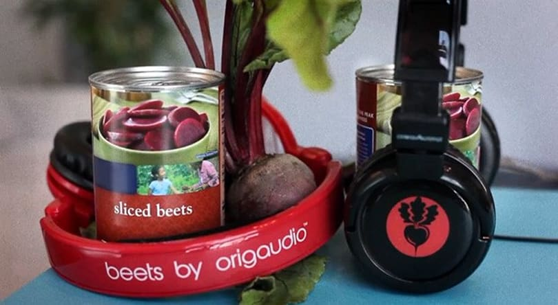 OrigAudio Beets headphones redefine KIRF: Keepin' It Real Fibrous (video)