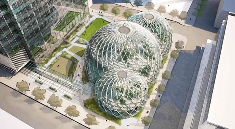 Amazon misses the rainforest, seeks to build a giant greenhouse in Seattle