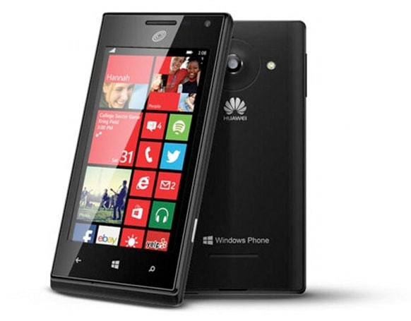 Huawei W1, the company's first Windows Phone 8 device, comes to the US in prepaid form