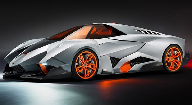 Lamborghini Egoista Concept centers entirely on its very fortunate driver (video)