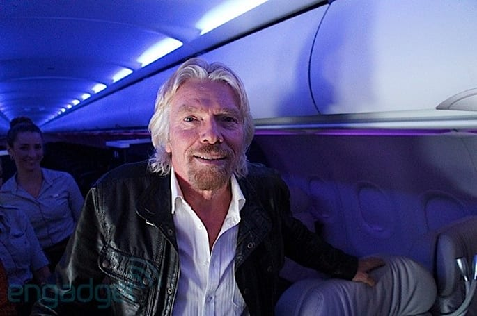 The Engadget Interview: Sir Richard Branson on Virgin Galactic and space tourism for the everyman