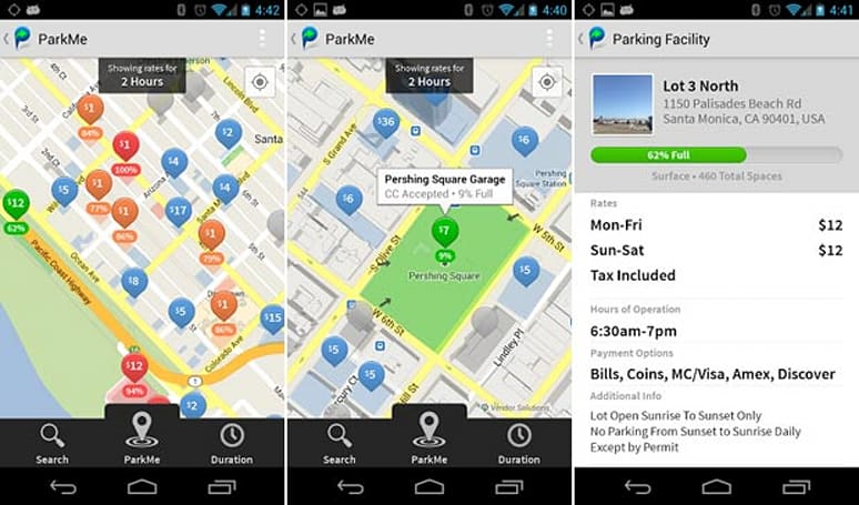 ParkMe's Android app officially launched, does everything but the maneuver