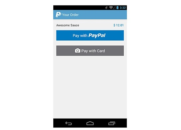 PayPal's new Android SDK offers multiple in-app payment options