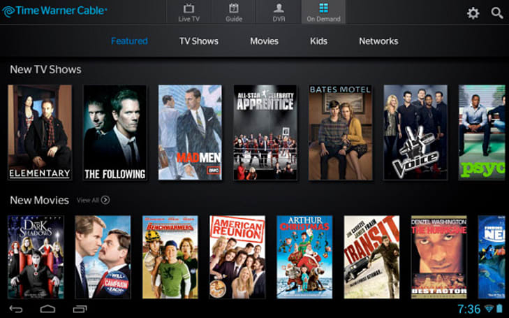 TWC TV app bringing remote viewing to Android devices on May 14th