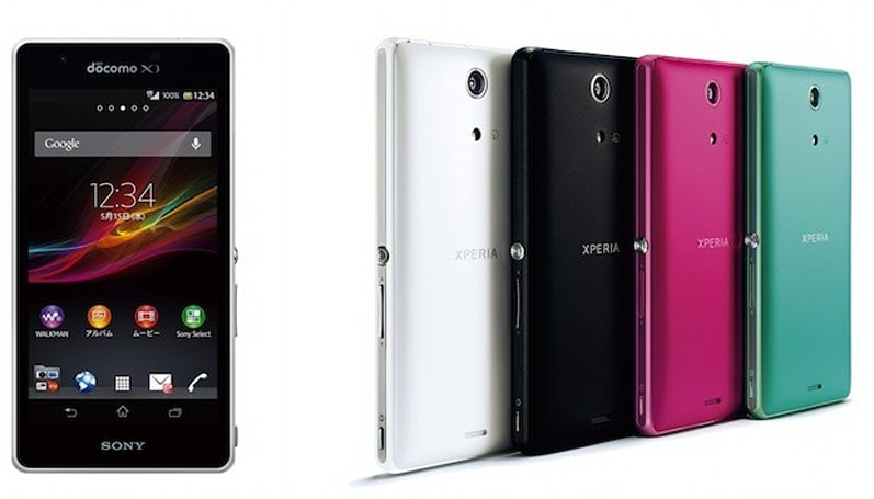 Sony's Xperia A Android 4.1 smartphone announced for NTT DoCoMo
