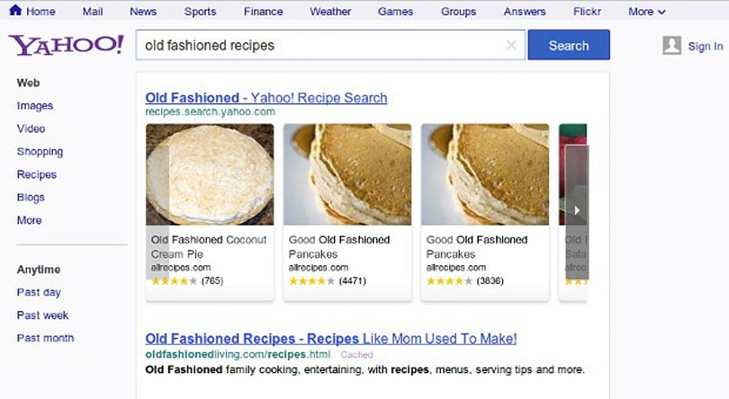 Yahoo gives search a redesign, unveils Google-esque nav bar