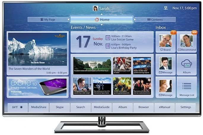 Toshiba will launch 84-, 65- and 58-inch 4K TVs in August, prices start at $4,999