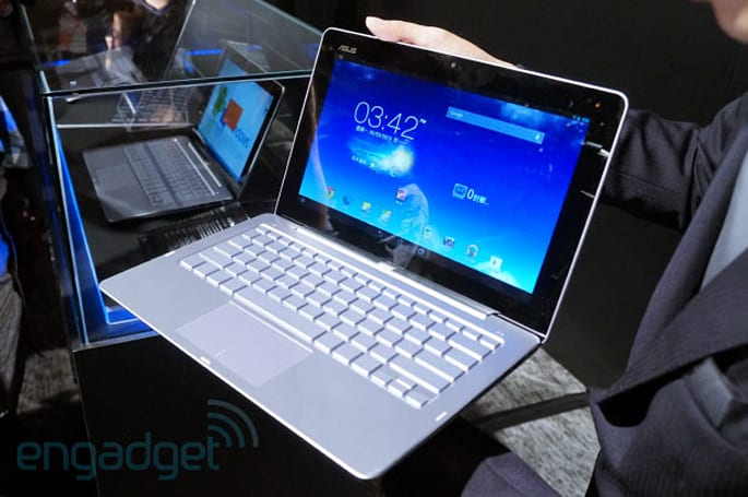 ASUS Transformer Book Trio: a hybrid laptop running Windows and Android (hands-on)