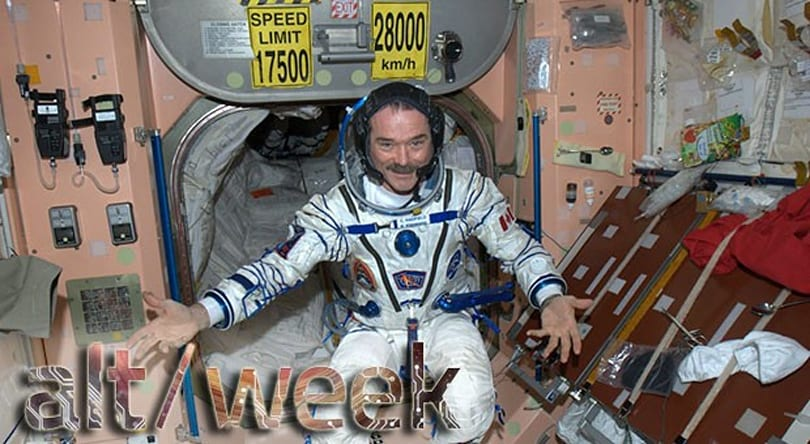 Alt-week 6.15.13: Chris Hadfield's retirement, invisibility cloaks and dino-bird feathers