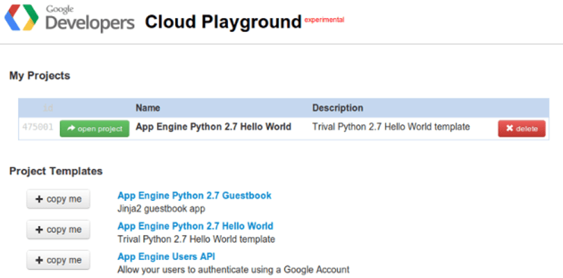 Google Cloud Playground lets you dip your toes in the Cloud Platform waters