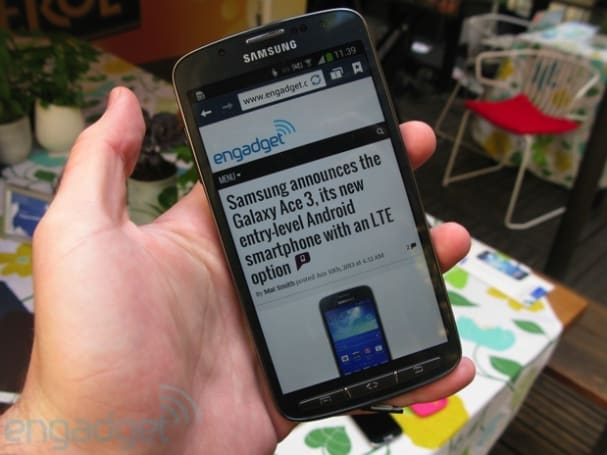 Early hands-on with Samsung's latest Galaxy devices: GS4 Active, GS4 mini, plus 8- and 10-inch Tab 3