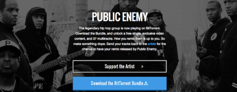 Public Enemy backs BitTorrent, releases new single in a Bundle, announces remix contest for fans
