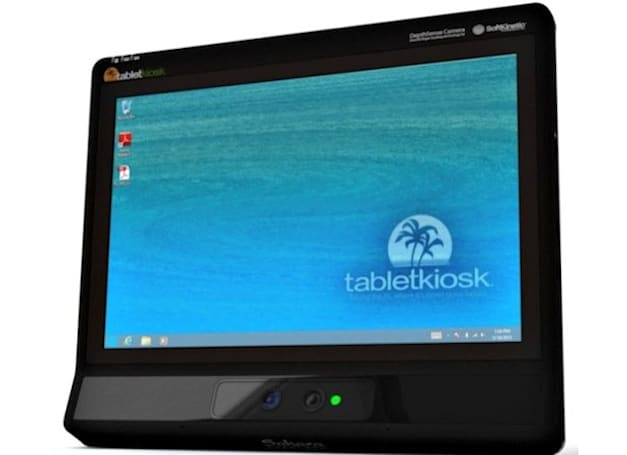 SoftKinetic and TabletKiosk collaborate on 3D interface for tablets