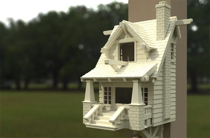 MakerBot's contest winners print a better birdhouse