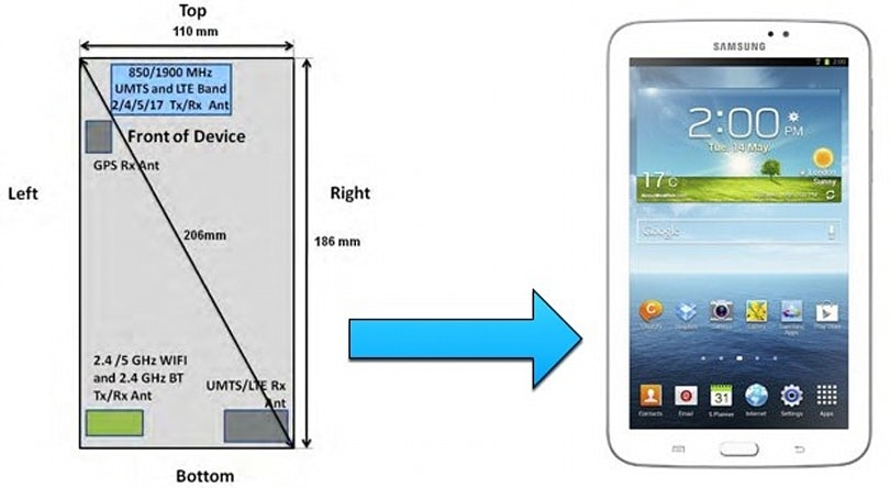 FCC certification hints at 7-inch Galaxy Tab 3 for AT&T