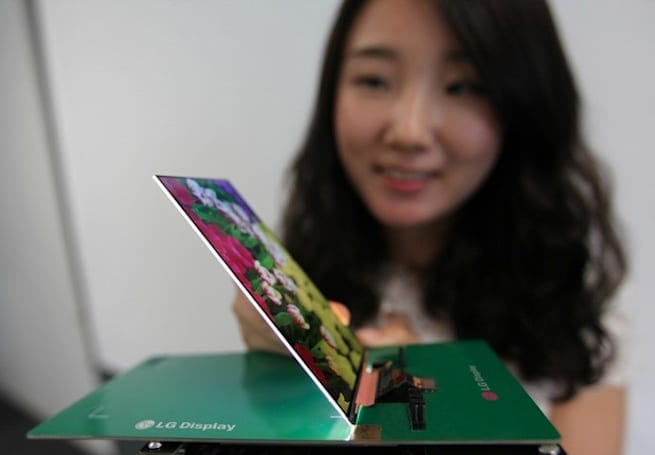 LG Display shows off 2.2mm thick 'world's slimmest' 1080p LCD for smartphones