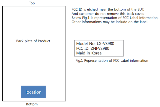 LG VS980 emerges at FCC, could be the Optimus G Pro for Verizon
