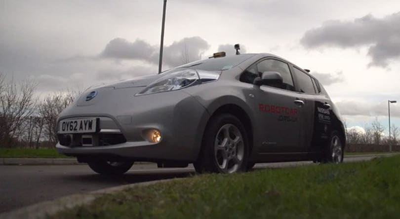 UK to test driverless cars on public roads before the end of 2013