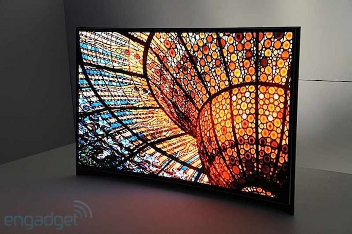 Samsung's 55-inch curved OLED TV set to land in the US this week for $15k