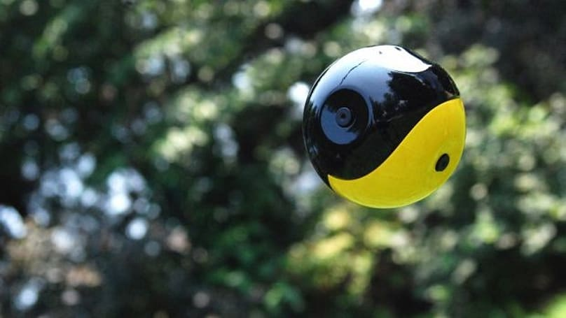 Squito throwable camera prototyped, search and rescue a fastball away