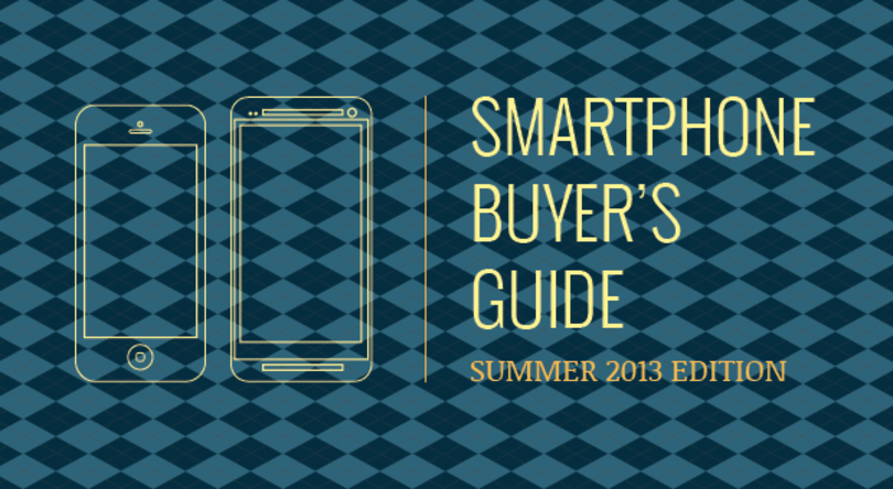 Engadget's smartphone buyer's guide: summer 2013 edition