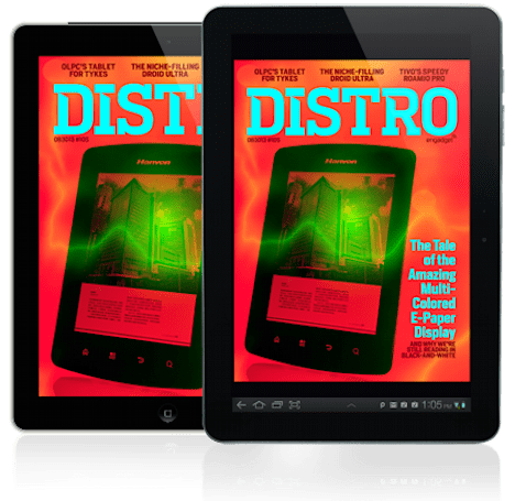 Distro Issue 105: The tale of the amazing multi-colored e-paper display