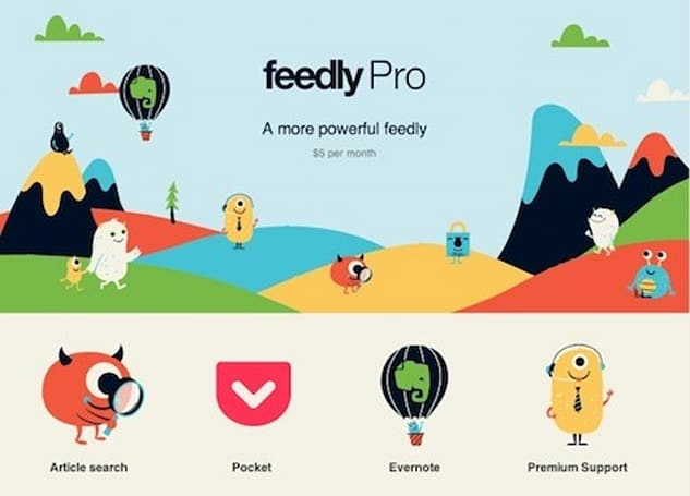Feedly Pro now available to everyone, offers a 'more powerful' reader for a fee