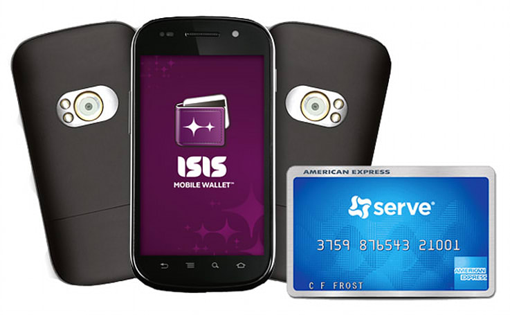 Isis Mobile Wallet teams up with American Express for nationwide rollout