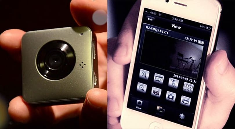 ParaShoot wearable camera lets you shoot stealthily, monitor on a smartphone