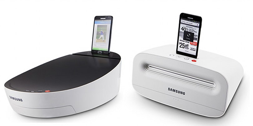 Samsung's concept printers don't need Bluetooth, come with built-in sound