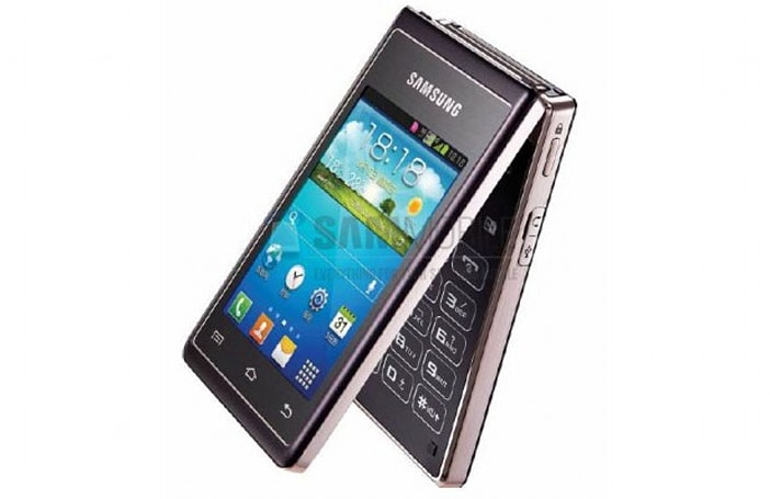 Another Samsung flip-phone leaks out: the Hennessy, with dual 480 x 320 displays