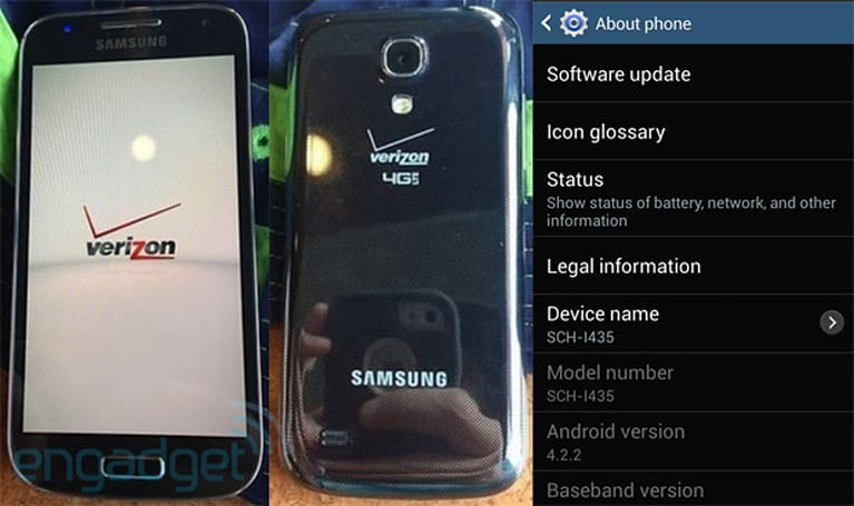Leaked photos: Samsung's Galaxy S4 Mini is headed to Verizon
