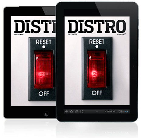 Distro Issue 109: Turning the lights off on innovation