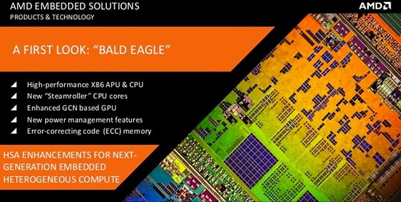 AMD's 2014 embedded roadmap includes dedicated graphics, gaming-friendly CPU