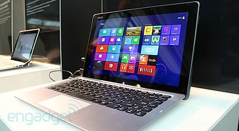 ASUS refreshes the original Transformer Book with Haswell, but it's still heavy