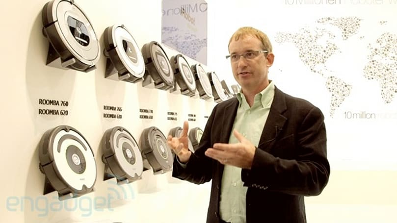 iRobot CEO Colin Angle on the shortcomings of humanoid robots (video)