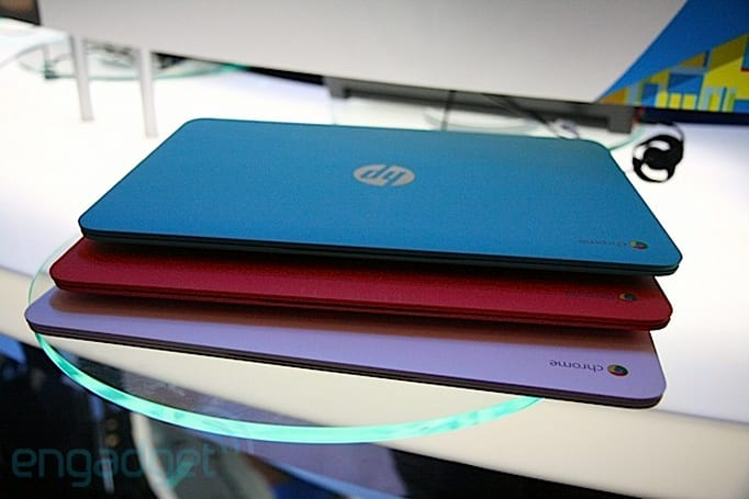 HP Chromebook 14 with Haswell hands-on (video)