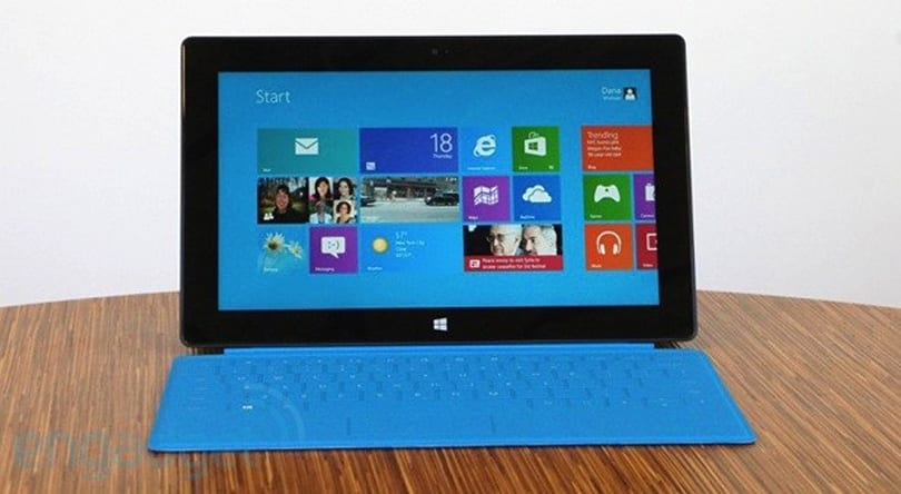 Surface 2 rumors point to 1080p screen, Tegra 4 chip and two-stage kickstand