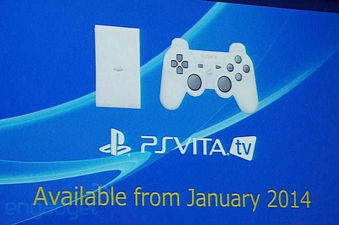 Sony's PS Vita TV launching in Asia in January, regional pricing TBA