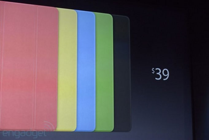 Apple announces new covers for the iPad Air and iPad mini, prices start at $39