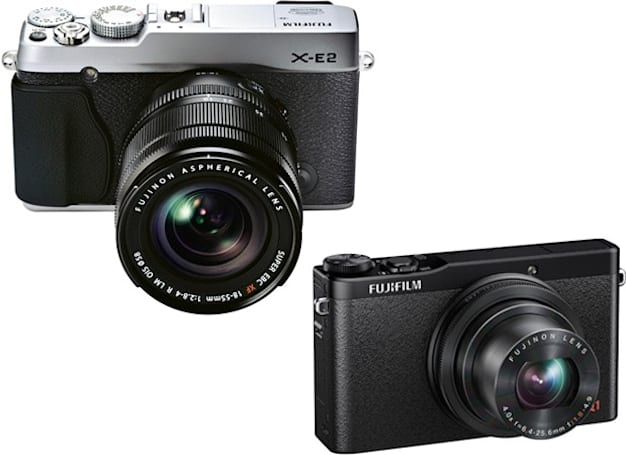 Fujifilm launches mid-tier X-E2 and XQ1 cameras with fast imaging and WiFi