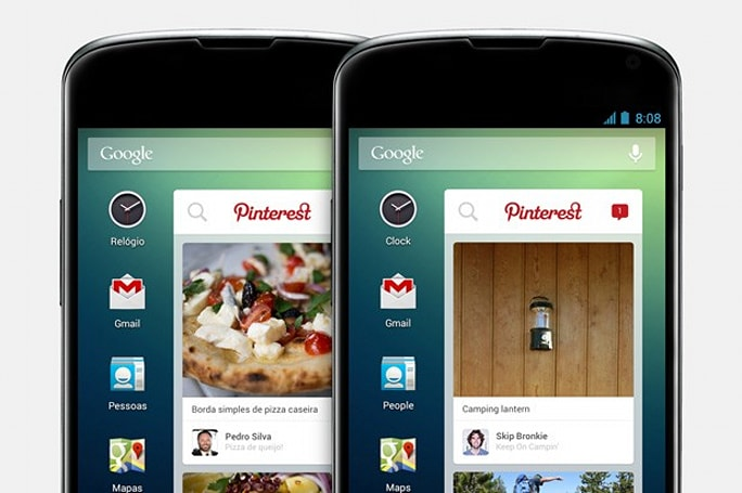 Pinterest launches an Android widget, but only for Telefonica customers