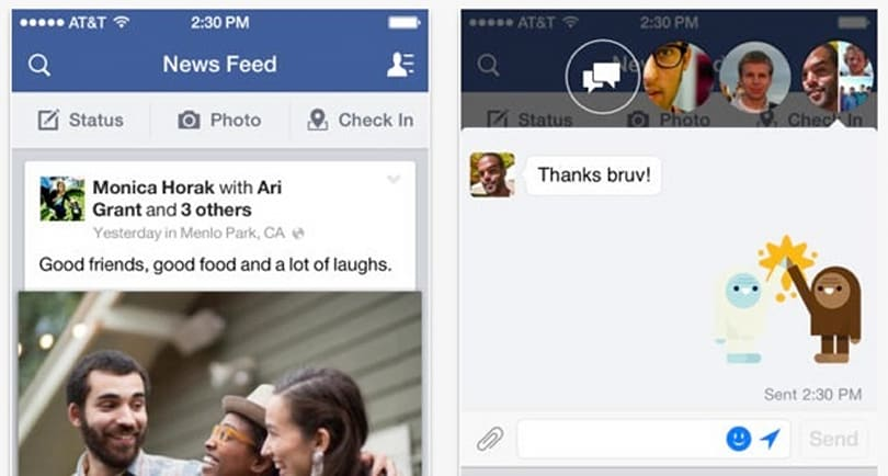 Facebook for iOS update lets you edit posts, add photos to comments