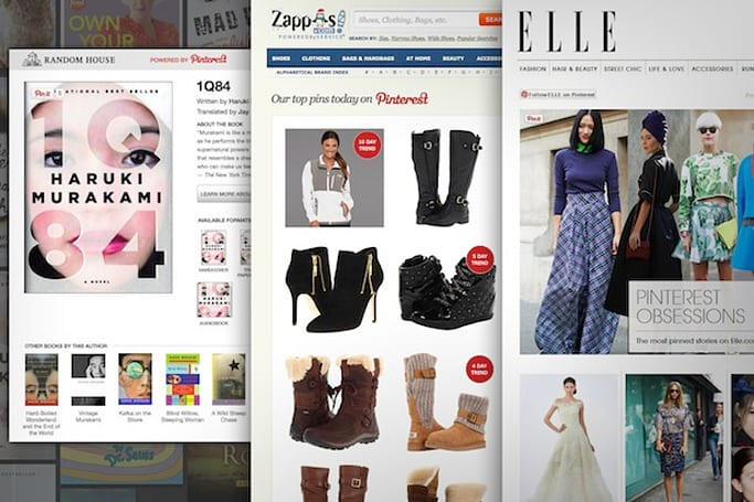 Pinterest's APIs let developers embed pins directly on their websites (updated)