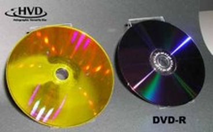 GE shows off 1TB holographic discs but Wolf Blitzer remains skeptical