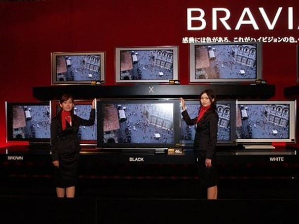 Sony unveils new Bravia LCD, LCoS HDTVs for Japan